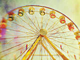 Ferrytale Ferris Wheel Photographic Print by Meagen Higginbottom