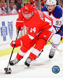Gustav Nyquist 2013-14 Action Photo
