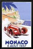 Monaco, 1937 Print by Geo Ham