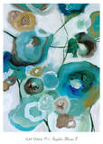 Sapphire Blooms I Kunst af Cat Tesla