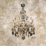 Champagne Chandelier Prints by Marta G. Wiley