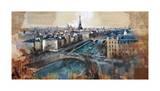 Ciel de Paris Giclee Print by Marti Bofarull