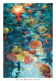Dancing on Water Prints by Donna Young