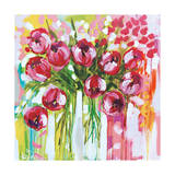 Razzle Dazzle Tulips Art by Amanda J. Brooks