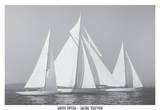 Sailing Together Art by Xavier Ortega