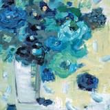 Harmony in Blue Affiches par Jennifer Harwood