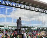 The Vince Lombardi Statue at the Lambeau Field Atrium at Lambeau Field Photo
