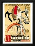 Lantern Press - Reklama na cyklistický závod Plakát