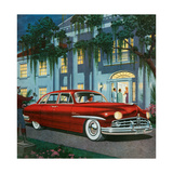 1940s USA Lincoln Magazine Advert (Detail) Giclee Print