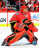 Jonas Hiller 2014-15 Action Photo