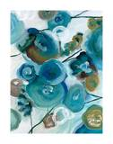 Sapphire Blooms II Giclee Print by Cat Tesla