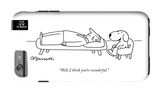 The New Yorker - Well, I think you're wonderful - iPhone 6 Plus Case iPhone 6 Plus Case by Charles Barsotti