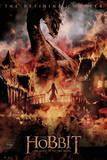 The Hobbit - Battle of Five Armies Dragon Plakát