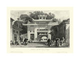 Scenes in China V Prints by T. Allom