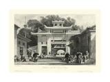 Scenes in China V Prints by T. Allom