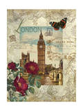 Eternal London Print by Abby White