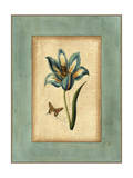 Crackled Spa Blue Tulip III Prints by  Vision Studio