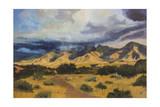 Desert Mountain Light Poster by Judith D'Agostino