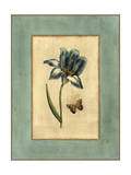 Crackled Spa Blue Tulip I Posters by  Vision Studio