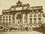 The Trevi Fountain Photographic Print by Giacomo Brogi