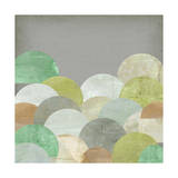 Scalloped Landscape II Prints by Jennifer Goldberger