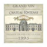 Vintage Wine Labels IX Posters by Erica J. Vess