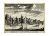 Views of Amsterdam VI Print by Nicolaus Visher