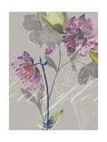 Violette Fleur II Premium Giclee Print by Kiana Mosley