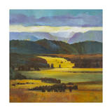 Mountain Light Print by Judith D'Agostino