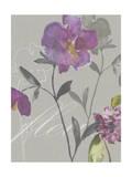 Violette Fleur I Premium Giclee Print by Kiana Mosley