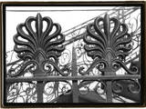 Wrought Iron Elegance I Photographic Print by Laura Denardo