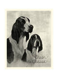 Chien de Chasse Posters by  Vision Studio