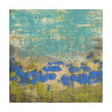 Cornflower Poppies I Poster by Jennifer Goldberger