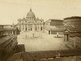 St. Peter's Square Photographic Print by Giacomo Brogi