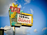 Vintage Diner I Photographic Print by  Recapturist