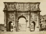 The Arch of Constantine Photographic Print by Giacomo Brogi