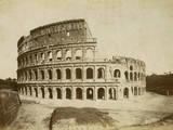 O Coliseu  Impressão fotográfica por Giacomo Brogi