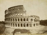 The Colosseum Photographic Print by Giacomo Brogi