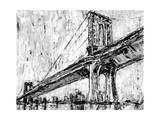 Iconic Suspension Bridge I Print by Ethan Harper