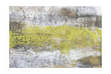 Yellow and Grey Serenity II Posters by Jennifer Goldberger