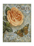 Memories of Paris I Art by Abby White