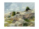 Impasto Mountainside I Láminas por Ethan Harper