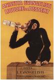 Italy - Anisetta Evangelisti Liquore Da Dessert Promotional Poster Print
