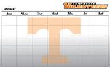 Tennessee Volunteers Dry Erase Calendar Calendars