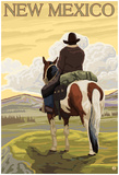 Cowboy - New Mexico Posters