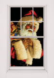 Santa Claus WOWindow Poster Window Decal