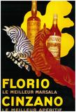 Florio Cinzano Vintage Poster - Europe Posters