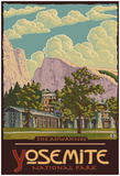 Ahwahnee Lodge, Yosemite National Park, California Prints