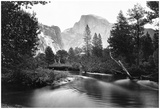 Yosemite National Park, Valley Floor And Half Dome Photograph - Yosemite, Ca Photo