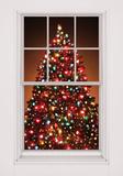 Christmas Tree WOWindow Poster Raamsticker